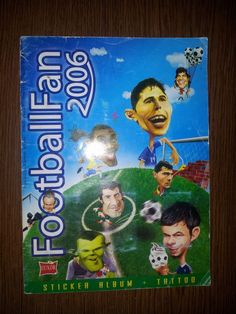 FIFA GERMANY WORLD CUP 2006 FOOTBALL FAN COMPLETE STICKERS ALBUM NOT PANINI    eBay