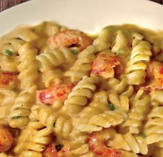 Crawfish Pasta - Made this for dinner tonight and it was a hit even with the picky Joseph!! It was delish!!!!!