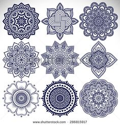 Mandalas. Vintage decorative elements. Hand drawn background. Islam, Arabic, Indian, ottoman motifs.