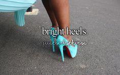 bright heels