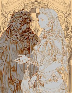 Ref.: Beauty and the Beast Tags: Detail, outfit, creature, style, color, tone, sexiness, background, medieval, fantasy