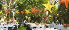Una boda con estrellas