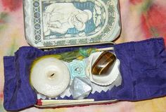 Altoids Tin Meditation Altar- let youth to create their own