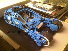 Blade runner - lego Spinner police car