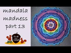 Video tutorial Mandala Madness part 13 | It's all in a Nutshell