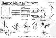 shuriken tutorial.