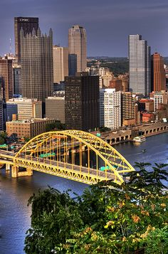 And here it is! This is what you see...in all it's gorgeousness - PITTSBURGH