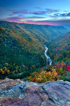 End of Day, Blackwater Canyon, West Virginia