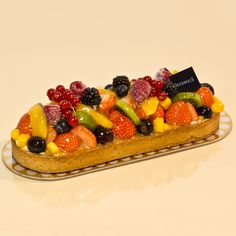 Tarte aux fruits by Oberweis...