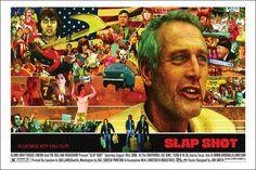 Slap Shot Jon Smith poster