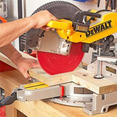 Miter Saws Sliding mitersaw joinery. Beyond crosscuts, this tool does lots more. 0 Share Email 1 of 9 Saw with Dewalt written on it Bey. Woodworking Saws, Learn Woodworking, Woodworking Techniques, Carpentry, Lathe Projects, Diy Wood Projects, Outdoor Projects, Miter Saw Reviews, Sliding Compound Miter Saw