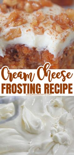 Homemade cream cheese frosting is quite easy! Today I'm going to show you the super-easy way of making a delicious simple cream cheese frosting for all your cakes, cookies and cupcakes. Aloe Vera Supplement, Cupcake Cakes, Cupcakes, Cake Fillings, Cream Cheese Frosting, Banana Bread, Super Easy, Icing, Deserts