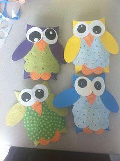 The Evolution of Home: Owl Gift Envelopes
