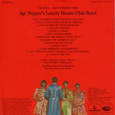 CD Album - The Beatles - Sgt. Pepper's Lonely Hearts Club Band - Apple - Europe