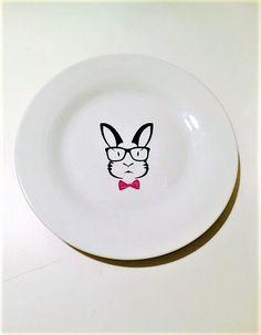 Graduation 2017 #giftsforgrads #graduation2017 #fathersday  #thursdaythoughts #graduationparty #giftsfordad #etsy  https://www.etsy.com/listing/479045779/bunny-plate-bunny-decorative-plate-bunny
