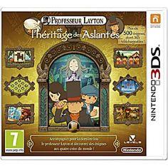 Professeur Layton et l'héritage des Aslantes sur 3DS (voir en occasion)
