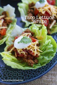 Taco Lettuce Wraps http://@Lauren Davison Davison Davison Davison Davison Davison Davisons Latest. Im eating this right now!