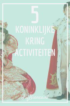 5 Koninklijke Kringactiviteiten - Eenvoudige activiteiten in verschillende vakgebieden, leuk voor Koningsdag! - Juf Bianca