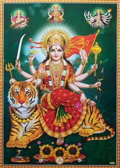 Maa Santoshi is an emblem of love, contentment, forgiveness, happiness and hope. It is so believed that fasting and praying for her for 16 consecutive Fridays brings peace and prosperity in ones family  - Mamtamai Shri Radhe Guru Maa Charitable Trust