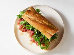 Soppressata Sandwiches recipe from Jeff Mauro via Food Network