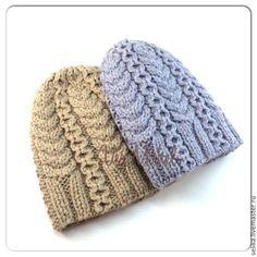 Шапка вязаная - шапка,шапка вязаная,шапка женская,шапка зимняя,Шапка с косами