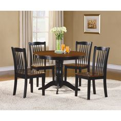 Woodhaven Hill Andover 5 Piece Dining Set