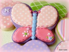 <3 Butterfly cookies