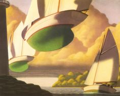 The Wreck of the Zephyr by Chris van Allsburg. One of the best children's books ever.