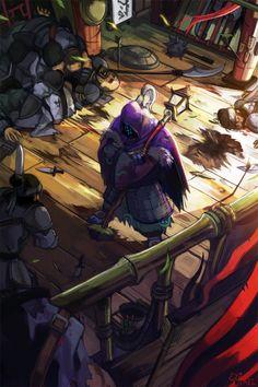 Jax from League Of Legends, fan art