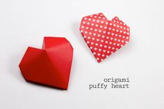 Origami Puffy Heart Instructions!