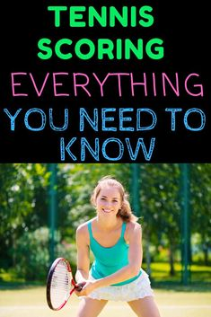 Tennis scoring can be difficult when you are learning how to play tennis. Use this complete guide on tennis scoring to help you be prepared for your next tennis match! Tennis Scores, Tennis Rules, Tennis Gear, Sport Tennis, Tennis Clothes, Tennis Techniques, Game Day Quotes, How To Play Tennis, Tennis