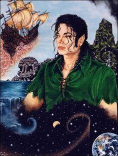 Peter Pan e Michael Jackson Michael Jackson Poster, Michael Jackson Wallpaper, Michael Jackson Cartoon, Michael Jackson Kunst, Michael Jackson Drawings, Michael Jackson Smile, Celine, Michelangelo, Boondocks Drawings