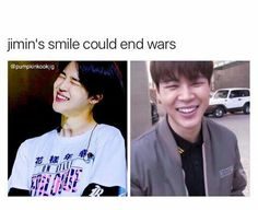 all of bts smiles could end wars
