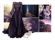 """""""violets in her garden 