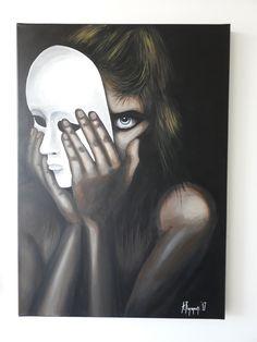 ''Mistify'' Acrylic on canvas 50x70