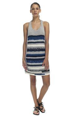 Yigal Azrouel Chunky Peace Knit Sweater Dress at Moda Operandi