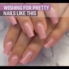 How to choose your fake nails? - My Nails Pink Nail Designs, Acrylic Nail Designs, Nails Design, Classy Nails, Stylish Nails, Blush Pink Nails, Diy Acrylic Nails, Nagel Hacks, Gel Nail Kit