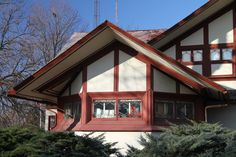 Hickox House. Kankakee, Illinois. 1900. Prairie Style. Frank Lloyd Wright