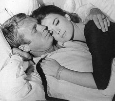 """Steve McQueen + Natalie Wood - """"Love With The Proper Stranger"""" so romantic"""