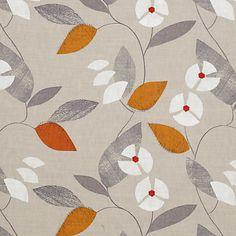 John Lewis Mayflower Fabric, Clementine online at JohnLewis.com - John Lewis