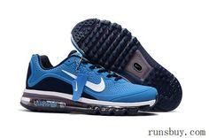 New Coming Nike Air Max 2017 5Max KPU Sea Blue Black For Men
