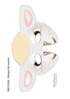 masque princesse à imprimer fête pinterest masking