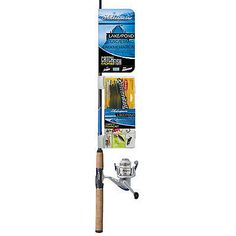 Other Rod and Reel Combos 179960: Shakespeare Fishing 1187277 Lakepond Combo 30Rl 6 Medium - Rod And Reel Combos -> BUY IT NOW ONLY: $35.95 on eBay!