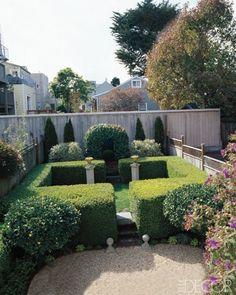 San Francisco Garden - ELLEDecor.com