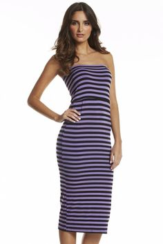 Superstrip maxi dresses
