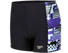 ΜΑΓΙΟ SPEEDO ALLOVER PANEL 8-095309653 Μαύρο  #joy #style #fashion