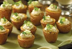 Twice baked potato appies