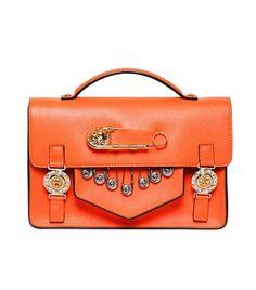 Medium Saffiano Leather School Bag