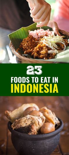 23 Indonesian foods you need to eat before you die. You'll be surprised what food in Indonesia made the list.Discover 23 Indonesian foods you need to eat before you die. You'll be surprised what food in Indonesia made the list. Asian Recipes, Mexican Food Recipes, Healthy Recipes, Ethnic Recipes, Healthy Food, Mie Goreng, Indonesian Cuisine, Indonesian Recipes, Florida