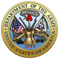 Military Insignia 3D : The United States Army Seal